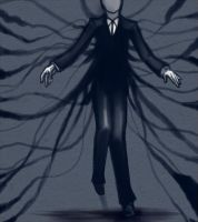 Slenderman by CUROSAWAX