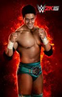 WWE 2K15 Darren Young Render by ThexRealxBanks