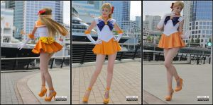 Sailor Venus: V times three! by MaryjaneDesignStudio