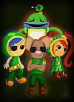 Umizoomi warriors by G3N3