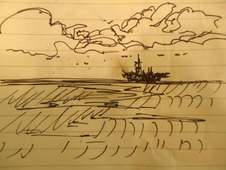 The Birkenhain Journal - A Sketch from Rostock by melaphyre