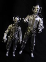 Dapol and Character Options: Tomb Cyberman by Police-Box-Traveler