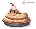 Daily Paint #1197. Piethon by Cryptid-Creations