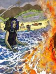 The Beach of Angst by clemon