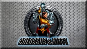 X-Men: Colossus and Kitty wp by SWFan1977
