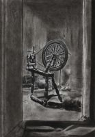 Cursed Spinning Wheel by goldenConnpass