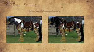George the mech Clydesdale horse by Demite