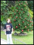 Me and...Christmas tree by Suzi-and-Luxor