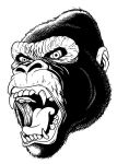 Gorilla by mikeandrickgraphics