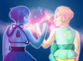 PearLapis Collab (with AmouPotato) by KAI314