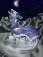 Queen of the frozen Land by Icedragon300