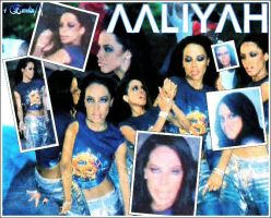 more pictures of aaliyah by likebutterfly