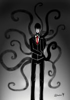 The Slenderman by XDMimikoXD