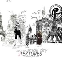 3Textures - small city by thisfeelings
