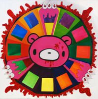 Gloomy bear color wheel by LadyluckMalice