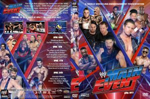 WWE Main Event April 2013 DVD Cover by Chirantha