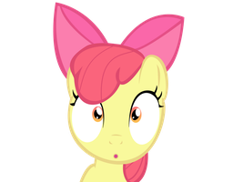 Applebloom scared by Supermanxdlolol