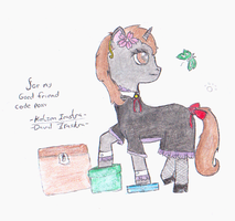 Littlepip the little maid by David-Irastra