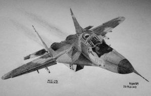 Polish Air Force MiG-29 by Ralph1989