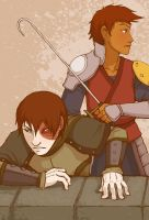 Jet + Zuko - After the Fall by AliWildgoose