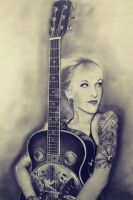 Sarah Blackwood by kyllerkyle