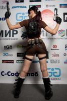 Lara Croft LEGEND7 - Igromir'12 by TanyaCroft