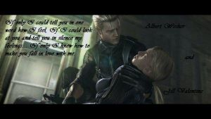 JillxWesker: If only..... by PrincessZelda145