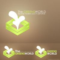 The Greensworld Logo by BlakeCeeno
