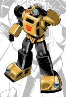 IDW G1 Card - Bumblebee by GuidoGuidi