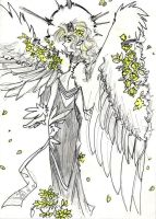Floral Angel by tohofuhai