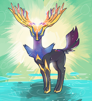 Xerneas by BBH
