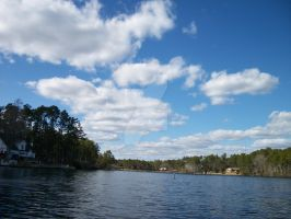 clouds lake by angelbaby88