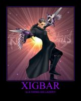 Xigbar Motivational Poster 2 by axel31309