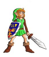 Link, CAD 25 by goemonsama