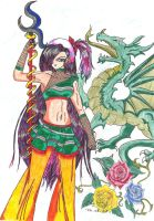 Dragon Girl by Quitte87
