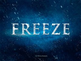 Psd Freeze - Text Effect by mostpato