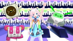 [MMD] VOCALOID Rana and Buddies by iMACobra