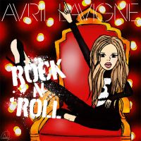 Avril Lavigne Rock N Roll by nasstaran