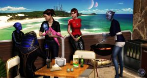 Day For BBQ by BarbDBarb