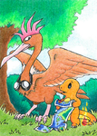 Fearow and Charmander - Hans has control by jeazard