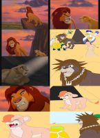 KH-Lion King Simba's Pride by sammychan816