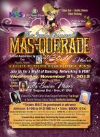 Masqurade Flyer by MinCaleb