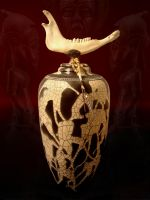 Bush Reliquary by rhodespottery