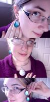 My First clay Jewellery! by Gatobob