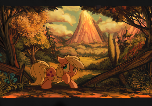 There be Timber Wolves in them woods Sis by Jowybean