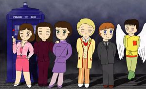 Doctor and companions 5 by AddieFanclub