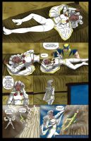 Storm's Savage Land Rescue Mission - 03 by BobKO