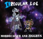 Mordecaiser and Ziggbys by DarkLord-Lamunes
