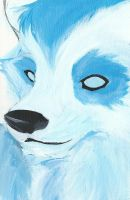Jack Painting WIP by MadCheshireFox