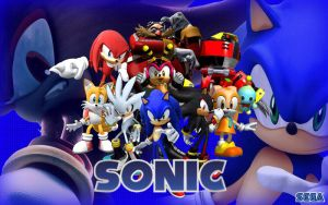 Wall Sonic The Hedgehog Union by XReaper666